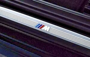 BMW OEM E60 E61 5 Series 2004-2010 Sedan Touring M Technik Door Sill Trim Strips