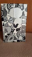 Homemade Server Waitress Guest Check/ Money Book. Duct tape. Metallic floral