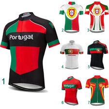Portugal Bike Jersey Motocross Cycling Jacket MTB Pockets Mountain Short Shirt