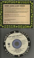 BONEY JAMES & RICK BRAUN Words and Music 1994 USA RARE INTERVIEW PROMO DJ CD
