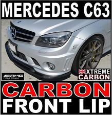 Mercedes C Class C63 W204 Carbon Front Lip Spoiler Splitter AMG Motorsport DTM