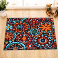 Africa Colorful Mandala Welcome Door Mat NonSlip Kitchen Bathroom Home Floor Rug