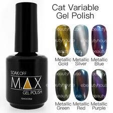 MAX 15ml Magnetic Cat Eye Variable Soak Off Gel Polish Nail Art UV LED Colour