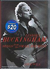 LINDSEY BUCKINGHAM (Fleetwood Mac) Small Machine Live Songs 2011 DVD NEW/SEALED