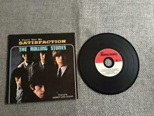 Rolling Stones CD Single Satisfaction /Under Assistant/Spider & Fly  Card Sleeve