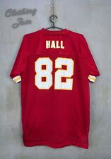 NFL Kansas City CHIEFS # 82 DANTE HALL-Reebok Red Jersey Size Youth XL 18-20