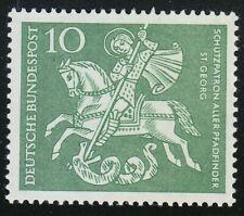 Germany 1961 MNH Mi 346 Sc 823 St.George's Day (patron saint of Boy Scouts) **