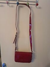 TED BAKER Red Patent Summer Bag
