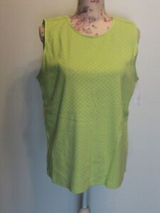 NWT Christopher & Banks Sleeveless Top Size XL
