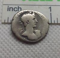 Original Ancient ROMAN  COIN SILVER denarius Hadrianus Hadrian 117-138 AD #338