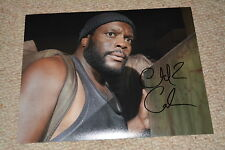CHAD COLEMAN  signed autograph 8x10 (20x25 cm) In Person WALKING DEAD Tyreese