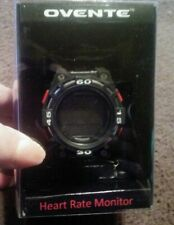 Ovente Heart Rate Monitor Watch - Black * New