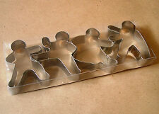 Kung fu ninja baking cookie cutter pastry metal stainless steel mold set 4pcs