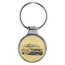 Geschenk für Audi A4 B8 Limousine Fans Schlüsselanhänger A-5117