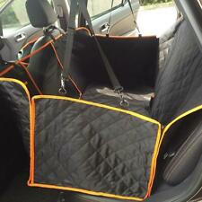 100% Waterproof Dog Car Seat Covers with Mesh Visual Window for Cars Trucks Suv