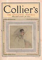 1910 Collier's May 28 - Rudyard Kipling; P G Wodehouse; Teddy Roosevelt; YWCA
