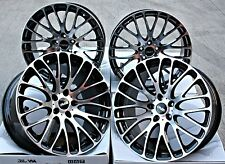 "18"" CRUIZE 170 ALLOY WHEELS BLACK WITH DIAMOND CUT FACE 5X110 18 INCH ALLOYS"