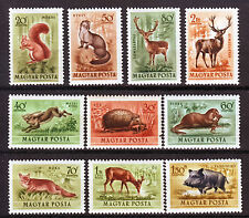 HUNGARY - 1953. Forest Animals - MNH