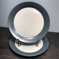 """Dansk Graves Studio design Set Of 2 Dinner plates 10 7/8"""" AnG.L Dinnerware MCM"""