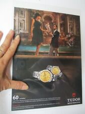 tudor rolex watch print ad poster 8x11 inch 2015s magazine clipping waterproof