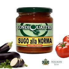 Sugo alla Norma, specialità artigianale siciliana, Condiquattro