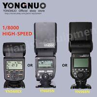 YONGNUO HSS Flash speedlite for NIKON YN968N YN685N YN568EX for selction