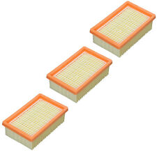 KARCHER Genuine Vacuum Cleaner Pleated Filter Wet & Dry MV5 WD4 WD5 WD6P x 3