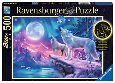RAVENSBURGER STARLINE PUZZLE*500 TEILE*WOLF IM NORDLICHT*NEU+OVP