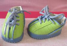 American Girl BITTY Baby Doll Clothes-TWINS MEET FALL FROLIC BOY GREEN SHOES