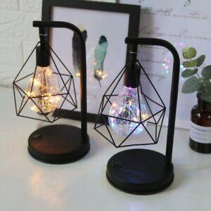 Diamond Shape LED Desk Lamp Touch Dimming Adjustment Table Lamp for Children Kid