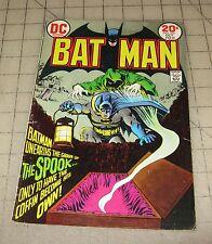 Batman #252 (Oct 1973) Good+ Condition Comic - The Spook !