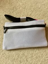 Macy's Belt Bag Black White NWT Waist Fanny Pack Zipper Travel Handbag Stylish
