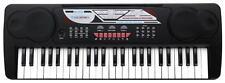 DIGITAL 49 KEYS KEYBOARD E-PIANO PIANO FOR BEGINNERS 16 SOUNDS 10 RHYTHMS MIC
