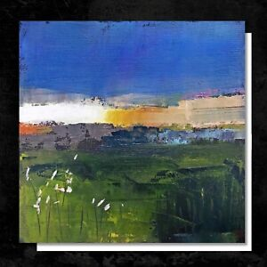 ART Greetings Card for any occasion - ABSTRACT LANDSCAPE painting