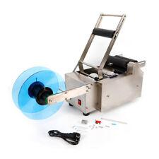 220V 120W MT-50 Edelstahl Runde Flaschenetikettiermaschine Etikettiermaschine DE