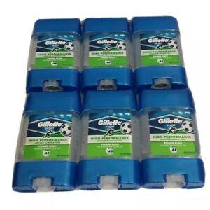 Gillette Antiperspirant Deodorant Sport Power Rush Gel Stick 70ml x 6 STICKS