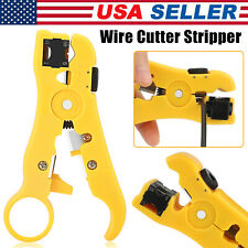 Automatic Coax Wire Stripper Cutter Self Adjusting Cable Stripping Pliers Tools
