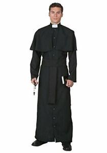 Mens Deluxe Priest Costume