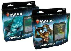 Kaldheim Commander Deck Set of 2 - MTG - Brand New! Our Preorders Ship Fast!