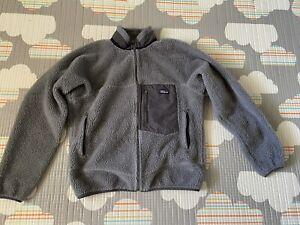 Patagonia Retro Pile Fleece Jacket - Men's Medium - Gray