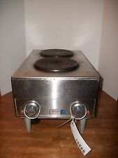 Wells H70 Electric Countertop 2 Burner French Hot Plate *