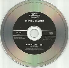 BRIAN McKNIGHT Crazy Love VAN MORRISON Remake Cover Song PROMO DJ CD single 1994