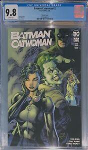 Batman Catwoman #2 Jim Lee Variant DC Black Label CGC 9.8
