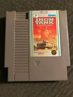 IRON TANK *Nintendo Entertainment System* Cart Only *Pins Cleaned*
