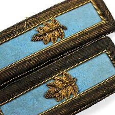 INDIAN WARS SPANISH AMERICAN MAJOR DRESS UNIFORM SHOULDER BOARD STRAPS EPAULETS