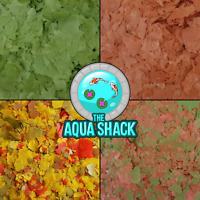 Marine Flake Fish Food - Spirulina Brine Shrimp Reef Coral Protein Growth Health