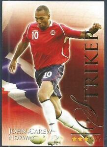 FUTERA 2010 WORLD FOOTBALL-SERIES 2- #658-NORWAY & ASTON VILLA-JOHN CAREW