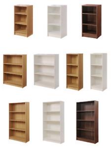 3 4 Tier Essentials Cube Bookcase Display Shelving Storage Unit Furniture ‖ BTAD
