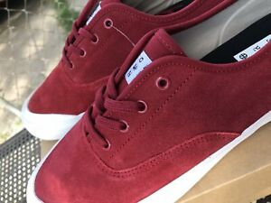 The HUF Cromer Red Mens Skate Shoes 🔥 🔥