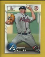 Kyle Muller RC 2016 1st Bowman Draft Prospects Rookie Card #BD-65 Atlanta Braves